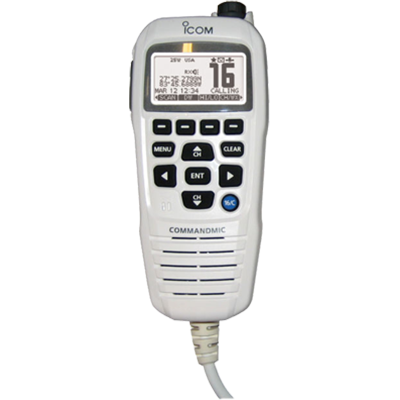 Icom CommandMic IV, for M424G, White