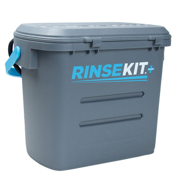 RinseKit Plus Portable Shower (Back-ordered until early August)