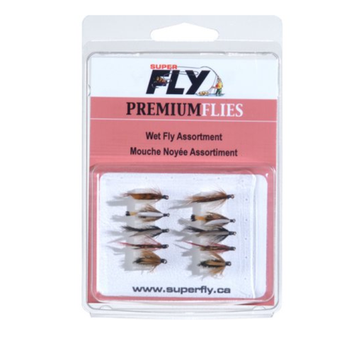 Superfly Wet Fly Assortment 10 Piece
