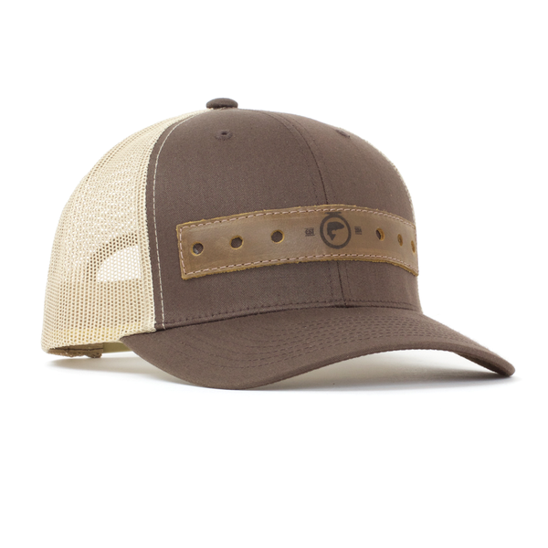 FishOn Energy - The Billy - Leather Fly Patch Hat