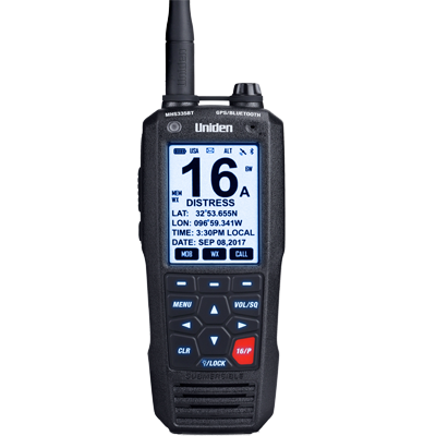 Uniden VHF-HH, MHS335BT, 6 Watt, Bluetooth