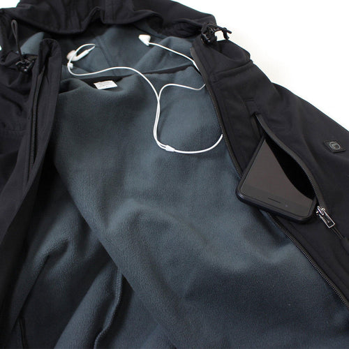Fishon Energy Poly-Tech Water Resistant Soft Shell Jacket (black)