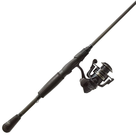 Lew's Custom Black Spinning Combo