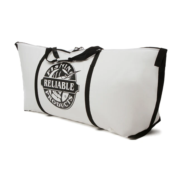Reliable Fishing Products Insulated Kill Bag, White Seabass Edition 24'' X 60''