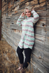 Cozy Sweetheart Sweater Dress