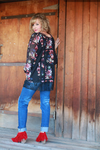 When The Sun Goes Down Tunic