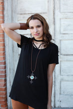 Dark Beauty Choker Top
