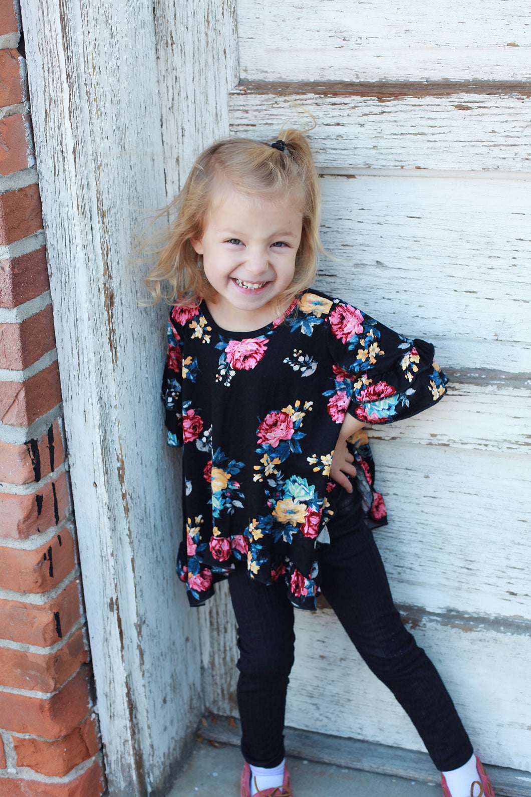 Love It Up Ruffle Kids Tunic