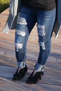 Ripped & Ready Denim Skinnies