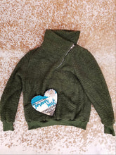 Warms My Heart Sherpa Pullover