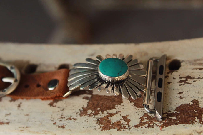 Sunburst W/ Turquoise by Wild Horse Watchin Bands
