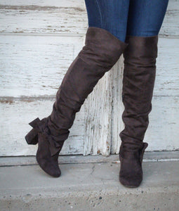 Heaven Every Time Knee High Boots