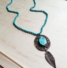 You're A Doll Turquoise Necklace