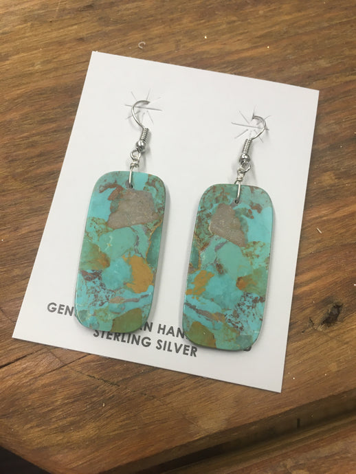 My Way Turquoise Earrings