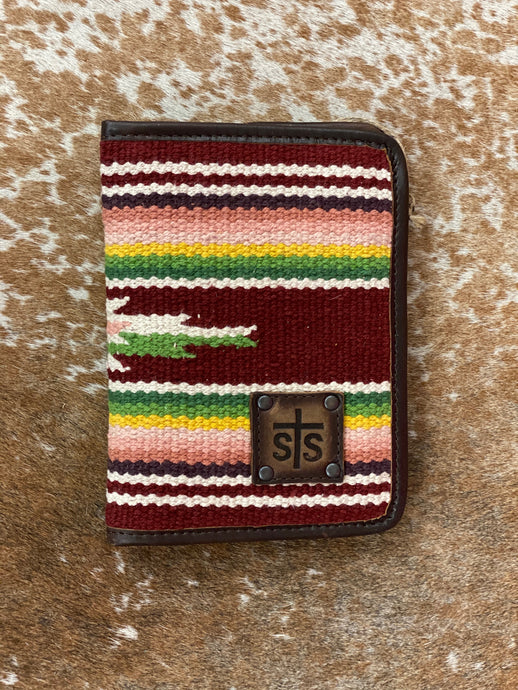 StS Buffalo Girl Magnetic Wallet