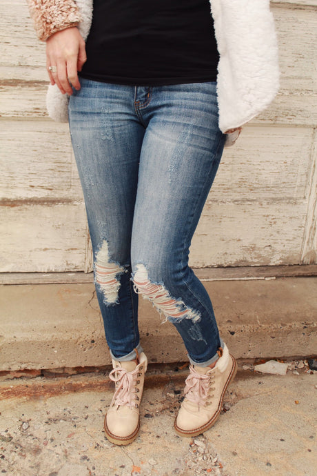 Small Town Girl Midrise Skinny Jean