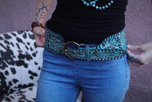 Steppin' Out Juan Antonio Turquoise Belt