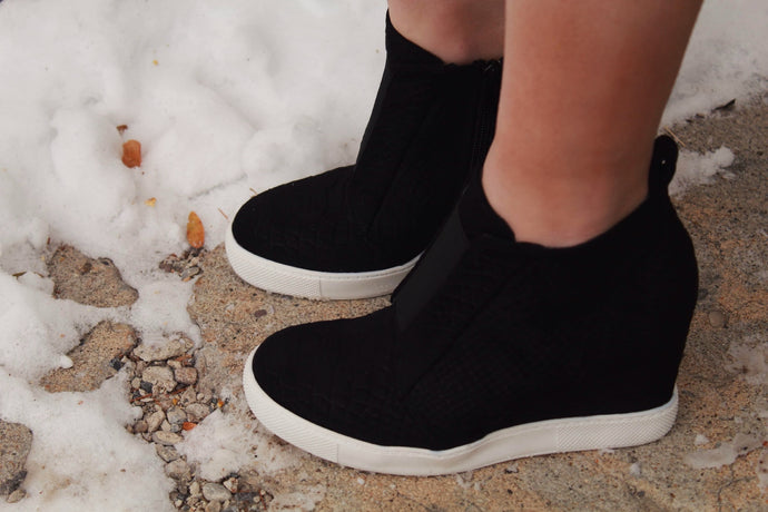 All The Feels Wedge Sneaker