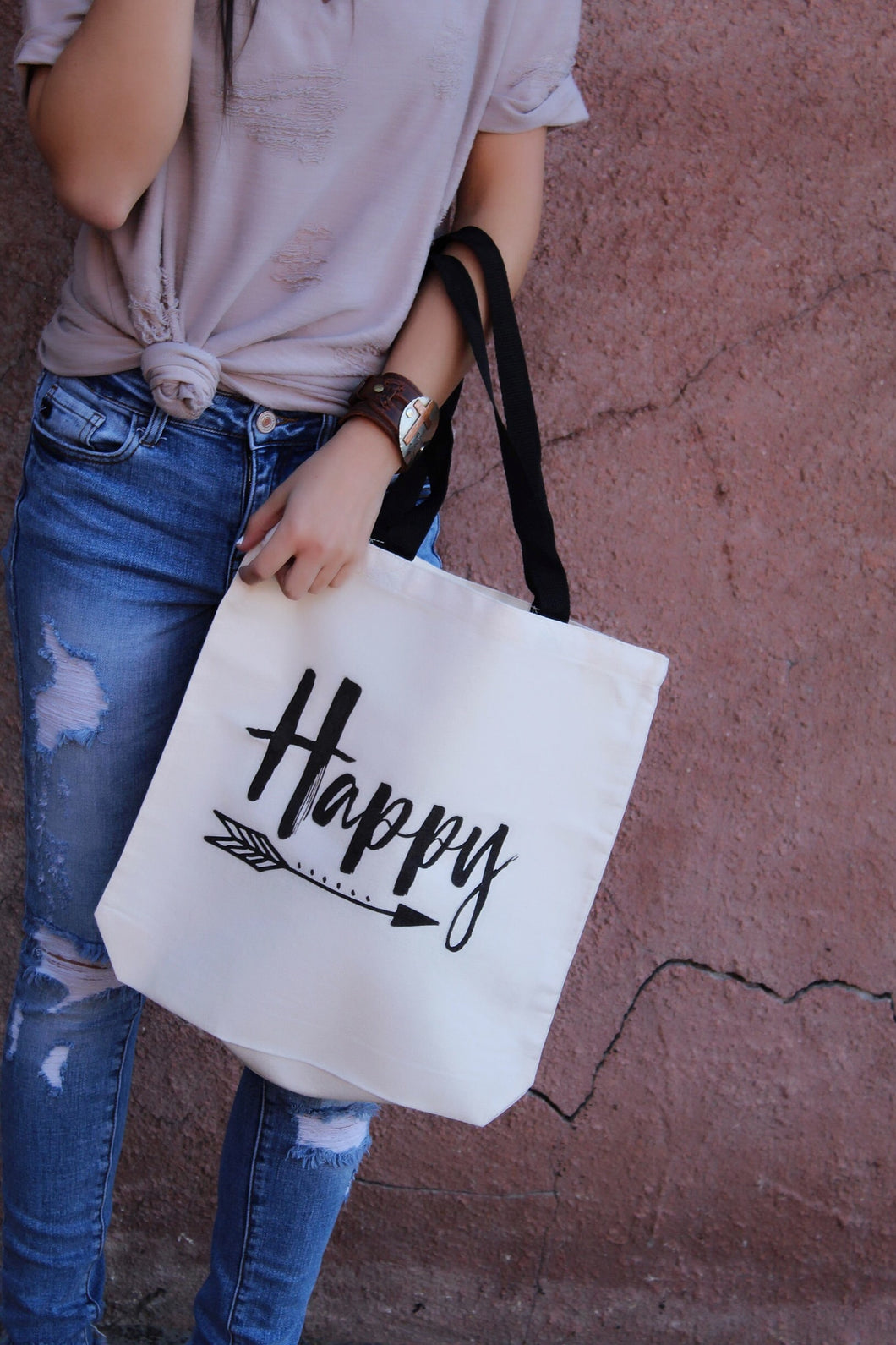 Don't Worry.. Be Happy Tote Bag