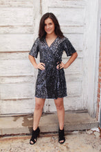 Time To Shine Wrap Dress