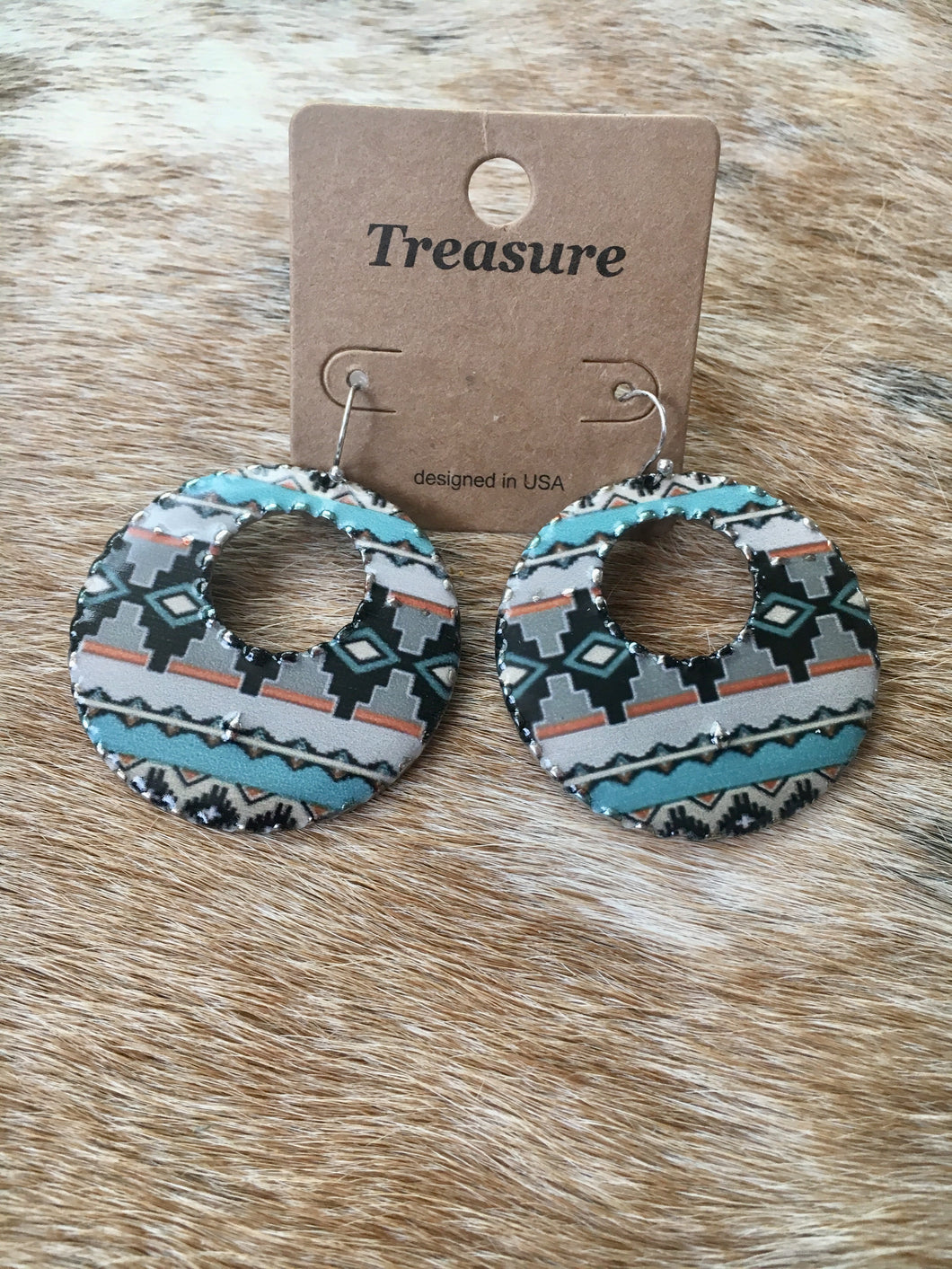 Treasure Aztec Earrings