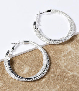 Pave the Way Earrings