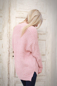 Night By The Fire Knit Sweater