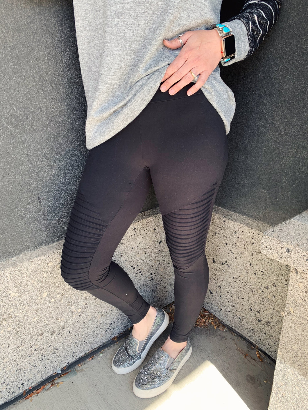 Run Your Race Moto Leggings