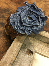 Denim Rose Cuff
