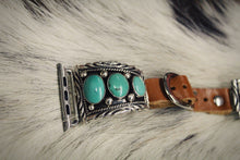 Green Turquoise 3 Stone iWatch Band