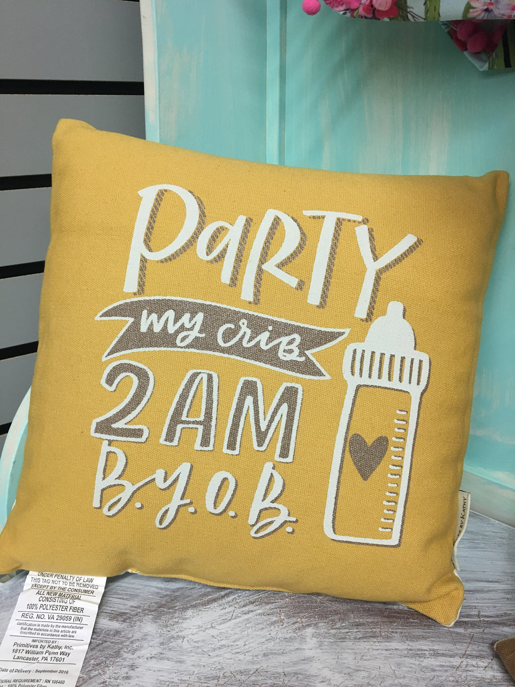 BYOB Pillow