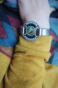 Waiting For You Leatherock Cuff