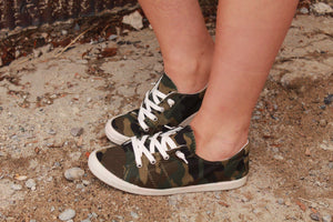 Army Crawl Camo Sneakers