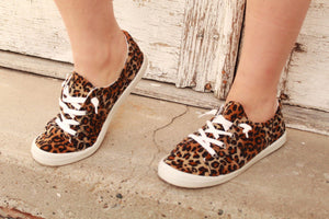 Forever Leopard Sneakers