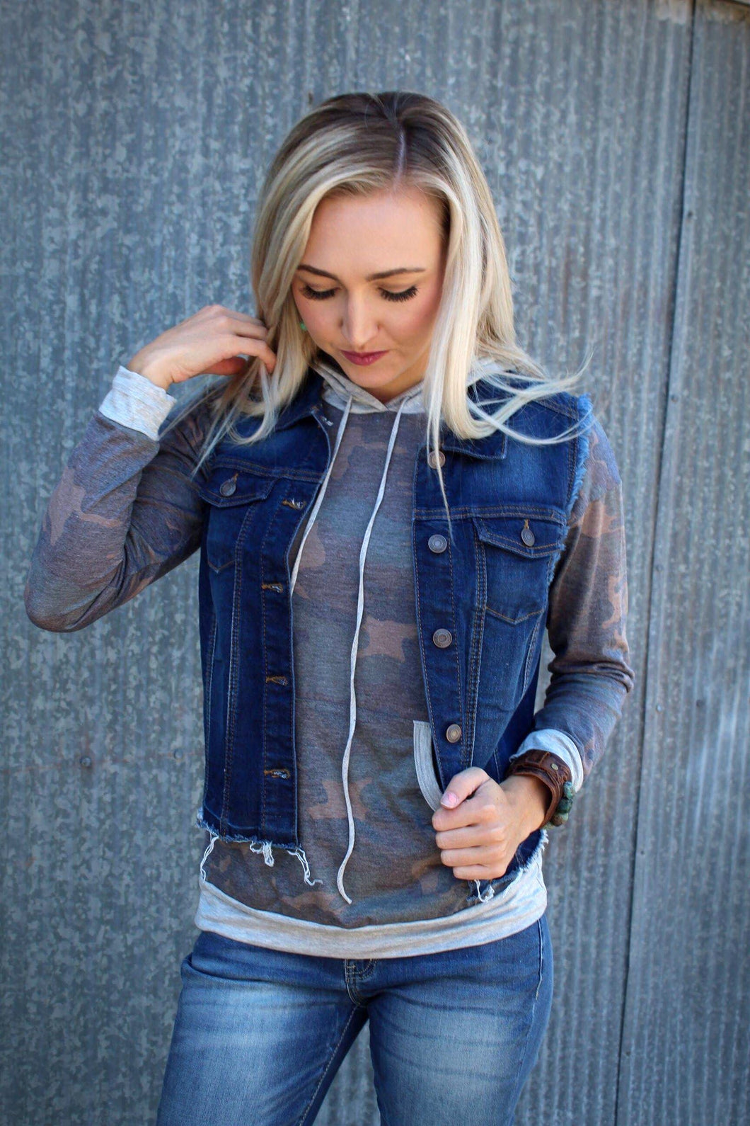 Denim Dream Vest