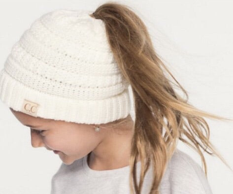 Just Playin' Kids Ponytail Beanie