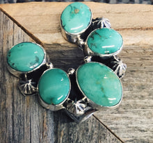 Lucky Gal Green Turquoise Ring