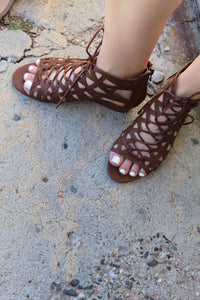 Lace Me Up Wedges