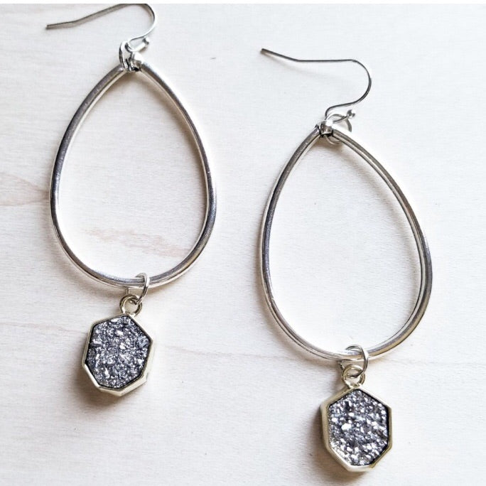 Dazzle Me Druzy Earrings