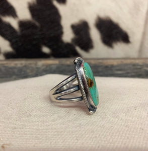 Feel It Out Turquoise Ring