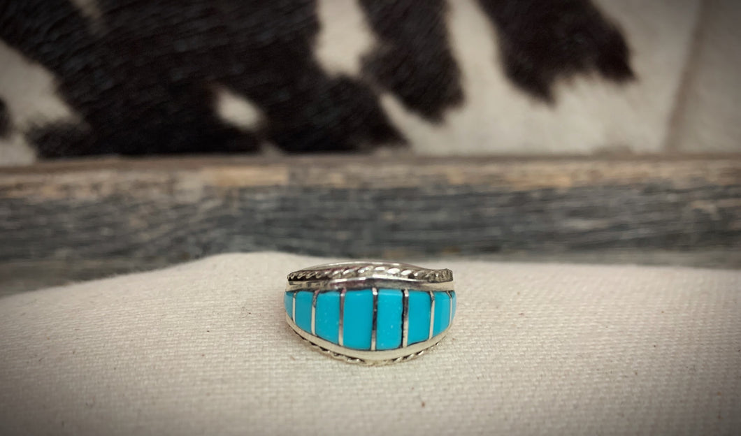 A Little Extra Turquoise Ring
