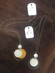Next to Me Necklace and Earring Set