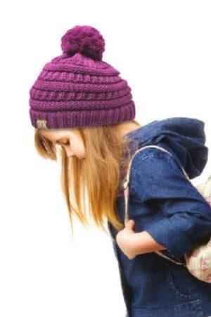 Build A Snowman Kids Beanie