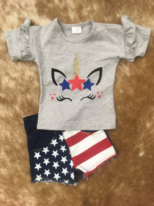 American Girl Denim Shorts