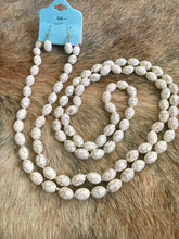 She's Ivory Beaded Necklace