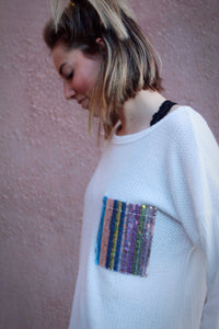 Sweet Surprise Rainbow Pocket Top
