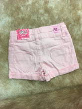 Ice Pink Denim Shorts