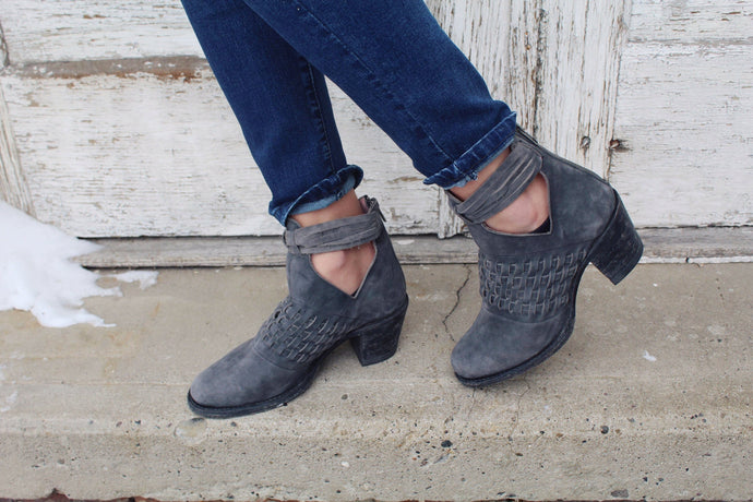 Canyon Smoke Miss Macie Booties