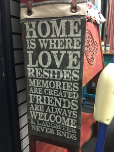 Home Is Where Banner