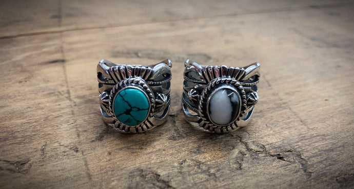 More Free Stamped Silver Rings